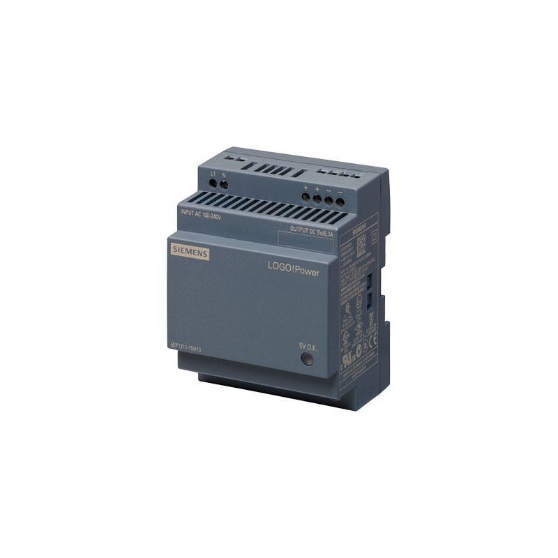 Siemens 6EP1311-1SH13 LOGO!POWER 5 V ALIMENTATORE STABILIZZATO