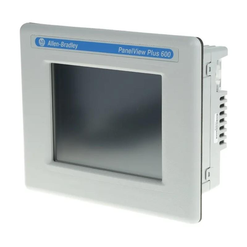 Allen-Bradley 2711P-T6C8A PANELVIEW Plus 600 Color Touch/RS-232/Ethernet/DH+, AC