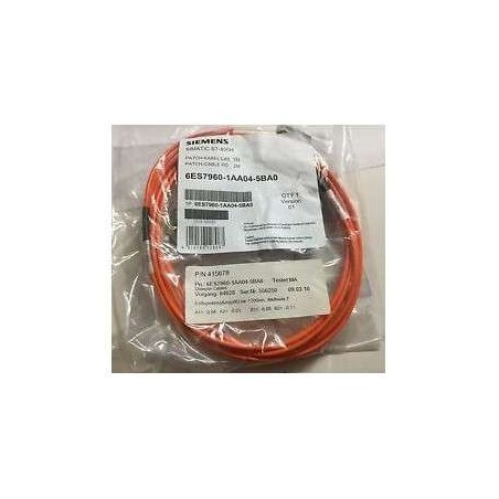 6ES7 960-1AA04-5BA0 Siemens S7-400H, PATCH CABLE FO 2M FOR SYNC-MODULE