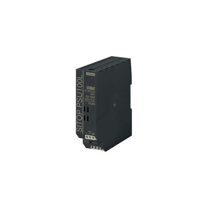6EP1332-1LB00 Siemens SITOP PSU100L 24 V/2.5 A STABILIZED POWER SUPPLY
