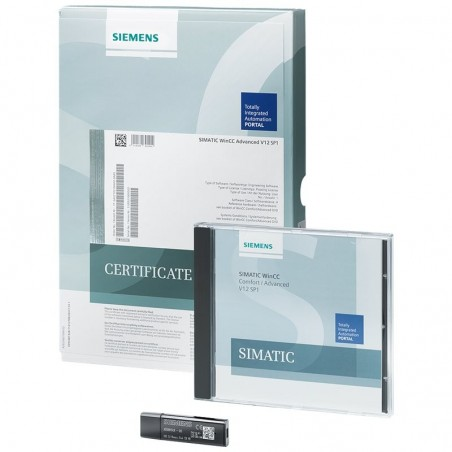 6AV2104-2DF04-0BD0 SIEMENS SIMATIC WINCC RUNTIME ADVANCED POWERPACK 512 POWERTAGS