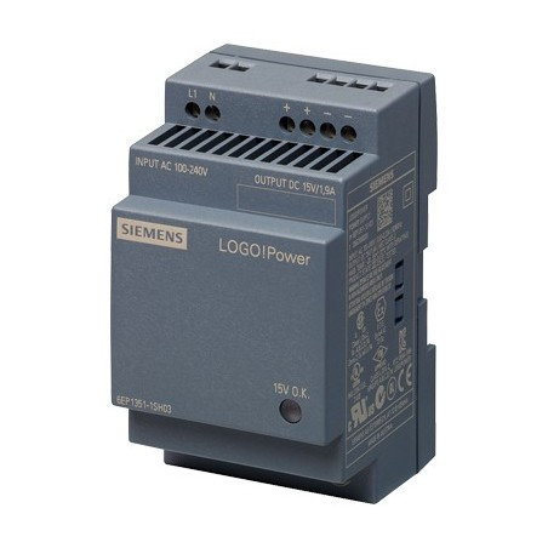 Siemens 6EP1351-1SH03 LOGO!POWER 15 V ALIMENTATORE STABILIZZATO
