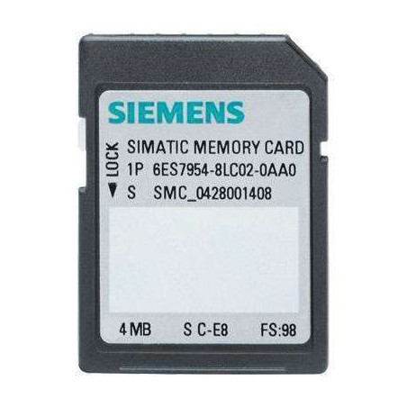 6ES7954-8LC02-0AA0 SIEMENS SIMATIC S7 MEMORY CARD
