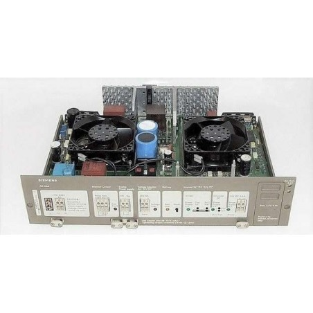 6ES5955-3LC14 SIEMENS SIMATIC S5 955 POWER SUPPLY UNIT F. CC