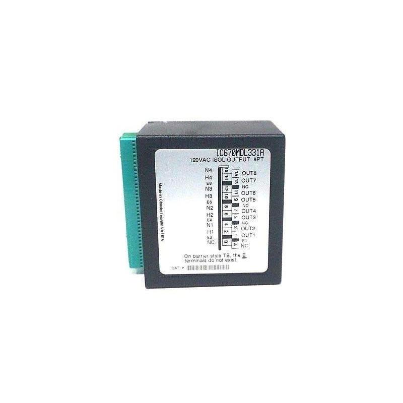 IC670MDL331 GE FANUC DISCRETE OUTPUT MODULE