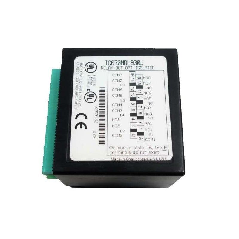 IC670MDL930 GE FANUC OUTPUT MODULE