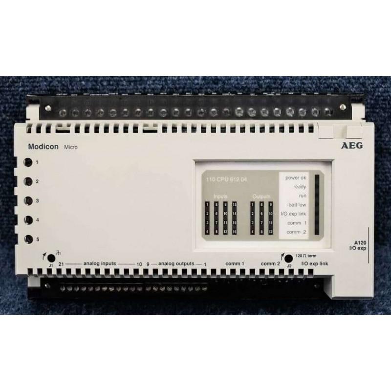 110-CPU-612-04 SCHNEIDER ELECTRIC CONTROLLER MICRO