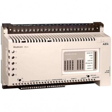 110-CPU-411-02 SCHNEIDER ELECTRIC - MICRO CPU 110CPU41102