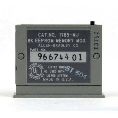 1785-MJ ALLEN-BRADLEY EEPROM Memory Cartridge