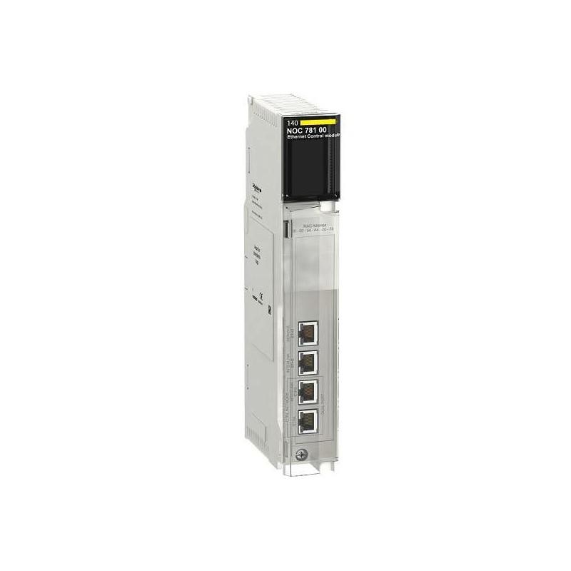 140-NOC-781-00 SCHNEIDER ELECTRIC - Ethernet control network module 140NOC78100